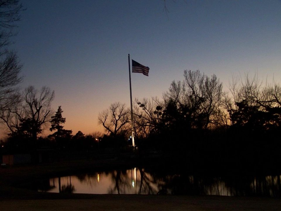 Legion park in El Reno near dusk it was Brisk but all in all nearing Spring.<br/><b>Community Photo By:</b> Billie Leicthweis<br/><b>Submitted By:</b> Kitty, el reno