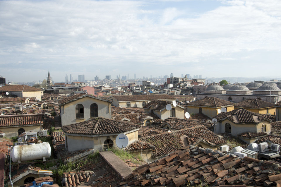 "Rooftops in Istanbul, Turkey, make up part of the scenes in the new MGM/Columbia Pictures ""Skyfall."" PHOTO PROVIDED.  <strong>Jasin Boland</strong>"