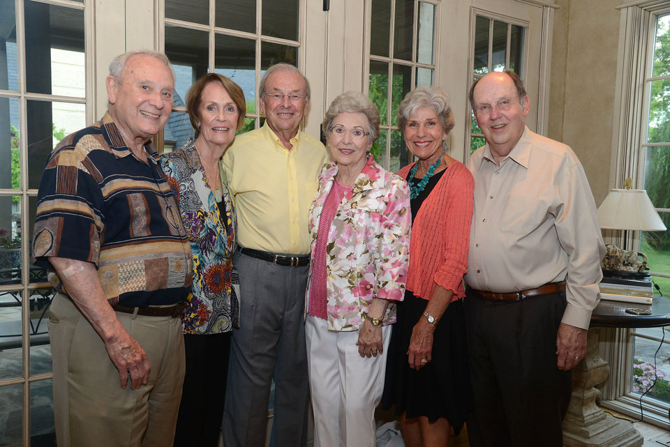 Photo - Stewart and Sandy Meyers, Gunnar and Barbara Anderson, Kay and Dan Dillingham. PHOTO BY DAVID FAYTINGER, FOR THE OKLAHOMAN
