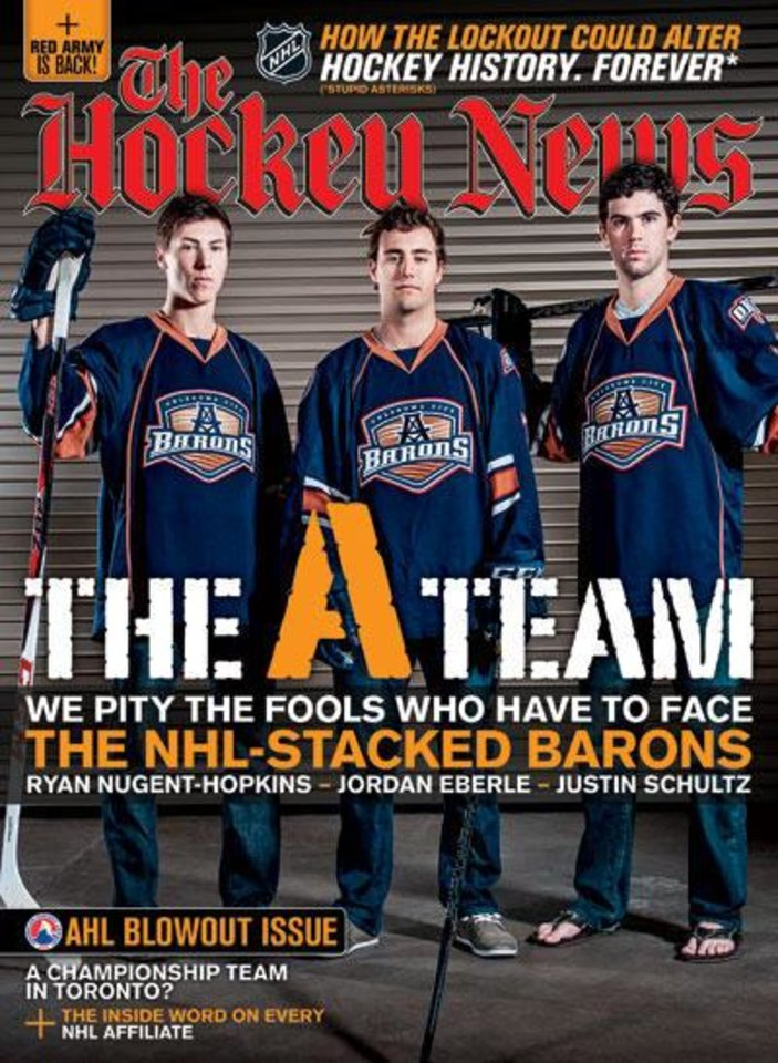 Nov. 5 cover of Hockey News