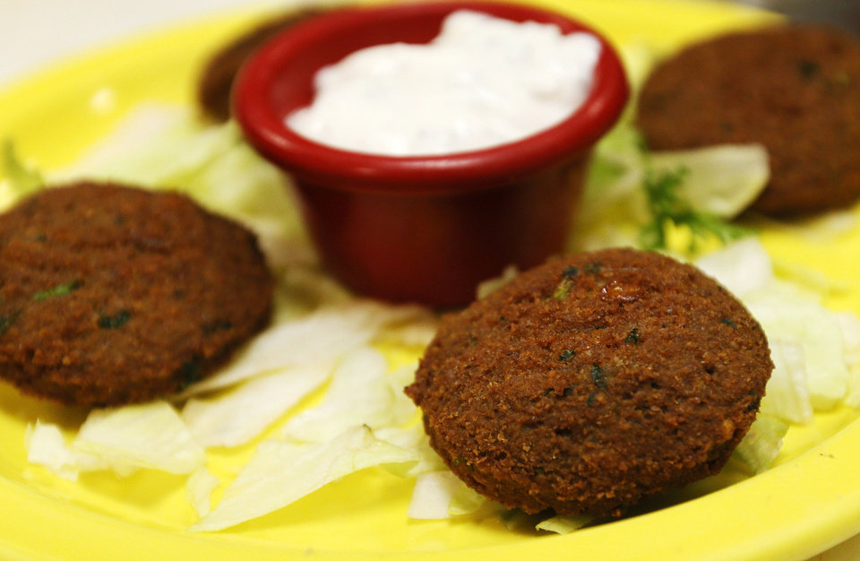 Falafels at Simply Falafel, 343 S. Blackwelder, in Edmond. Photo by Nate Billings, The Oklahoman <strong>NATE BILLINGS - NATE BILLINGS</strong>