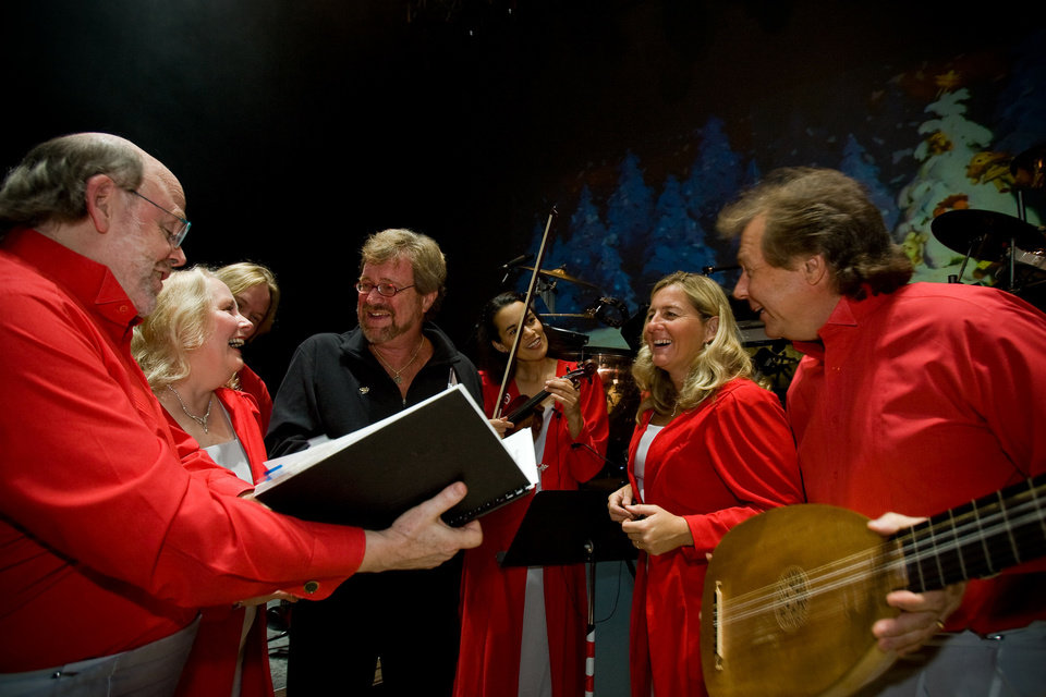 "The cast of ""Mannheim Steamroller Christmas""   Photo provided <strong>Photo provided</strong>"