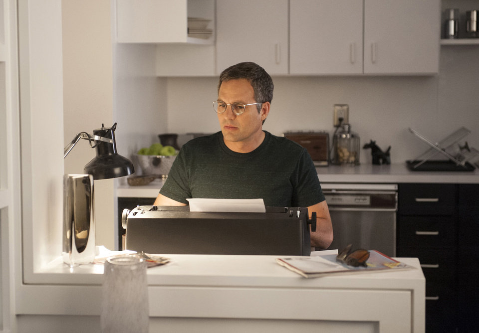 Photo - This image release by HBO shows Mark Ruffalo as Ned Weeks in a scene from