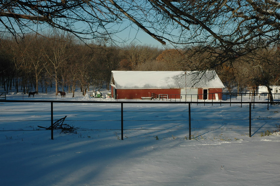 A winter wonderland<br/><b>Community Photo By:</b> Dan Bradley<br/><b>Submitted By:</b> Dan, Harrah
