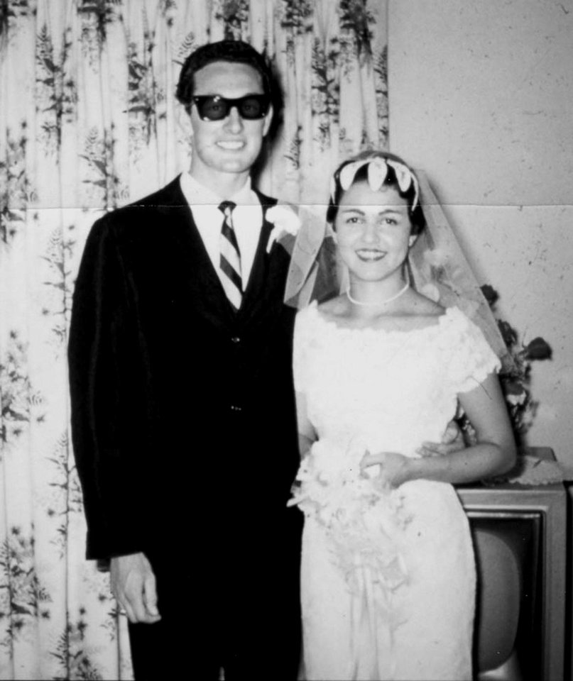 Photo - This  photo, supplied by Heritage Auction Galleries, shows Buddy Holly on the day he married Maria Elena Holly, just months before his tragic death .A watch that the rock 'n' roll legend wore the day he died in a plane crash in Iowa on Feb. 3, 1959.  This spring, Holly's widow will auction his watch, unreleased music recordings and other personal items, including his suits and passport, at Heritage Auction Galleries and Auctioneers in Dallas, April 14-15, 2006.(AP Photo/Heritage Auction Galleries)