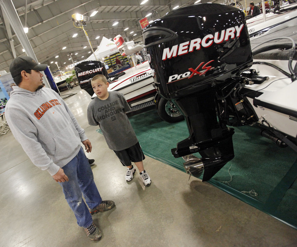 Photo -  during the 2011 Oklahoma City Winter Boat Show at State Fair Park in Oklahoma City, Thursday, January 27, 2011. Photo by Nate Billings, The Oklahoman