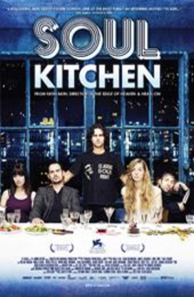 Photo - %u201CSoul Kitchen.%u201D The German comedy revolves around a locals-only restaurant. Through a series of comedic set pieces, the film depicts people of various cultures hop-scotching international borders in pursuit of individual destinies.