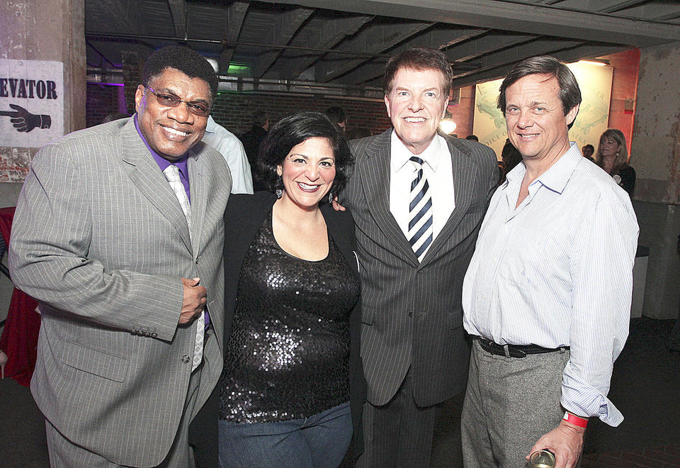 Photo - Ron Williams, Nicole Thomas, Jack Elliott, Steve Mason.