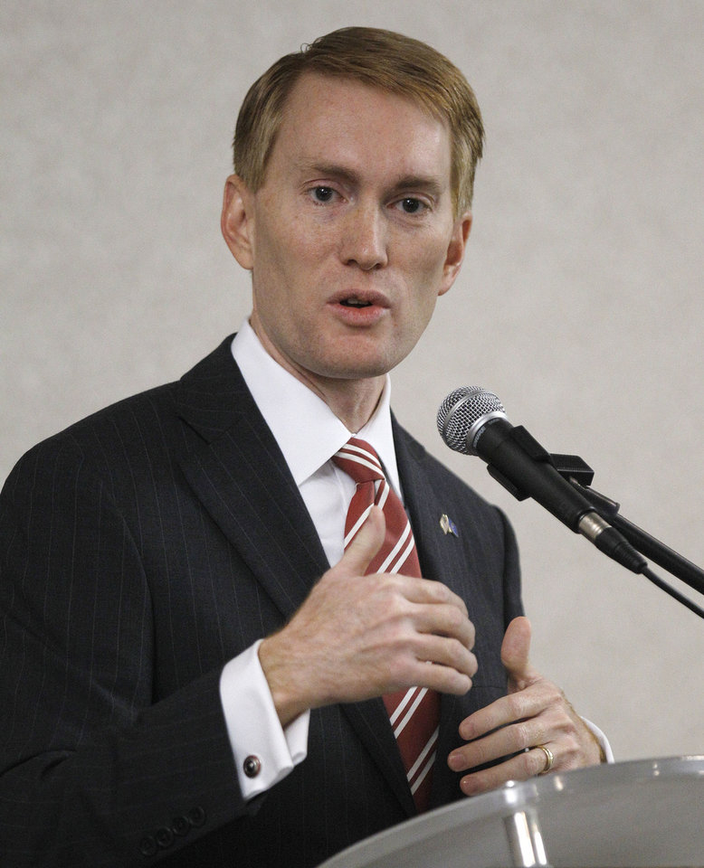 Rep. James Lankford <strong>Sue Ogrocki - AP Photo</strong>