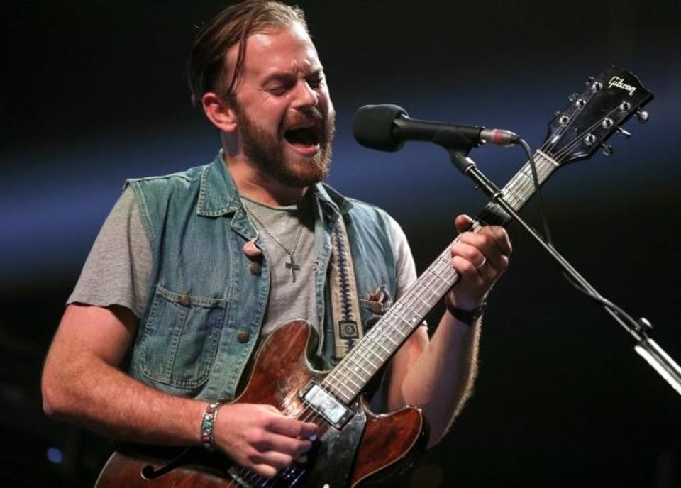 Photo -  Anthony Caleb Followill with Kings of Leon performs during the