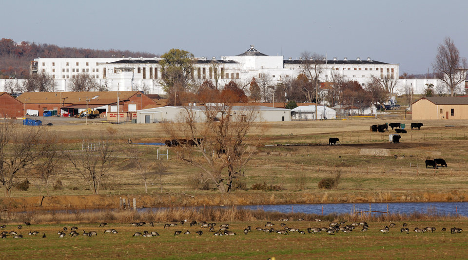 Photo - A view of the Oklahoma State Penitentiary in McAlester, Okla., Wednesday, Dec. 7, 2011. Photo by Nate Billings, The Oklahoman
