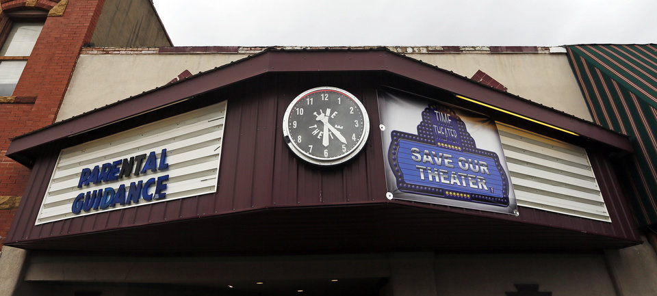 The Time Theatre in Stigler. <strong>NATE BILLINGS - THE OKLAHOMAN</strong>