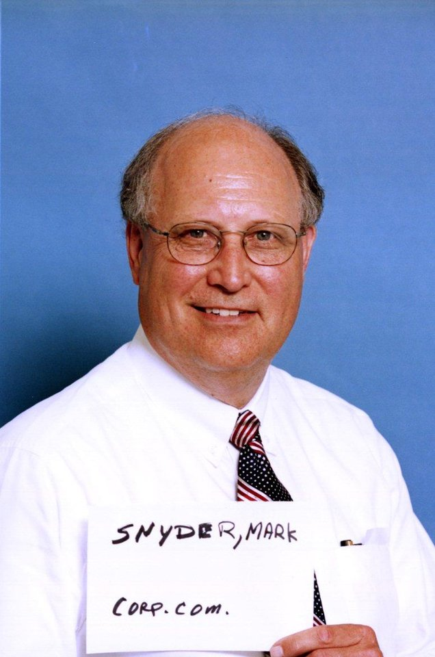 Photo - CANDIDATES: Mark Snyder, Republican candidate for state Corporation Commissioner