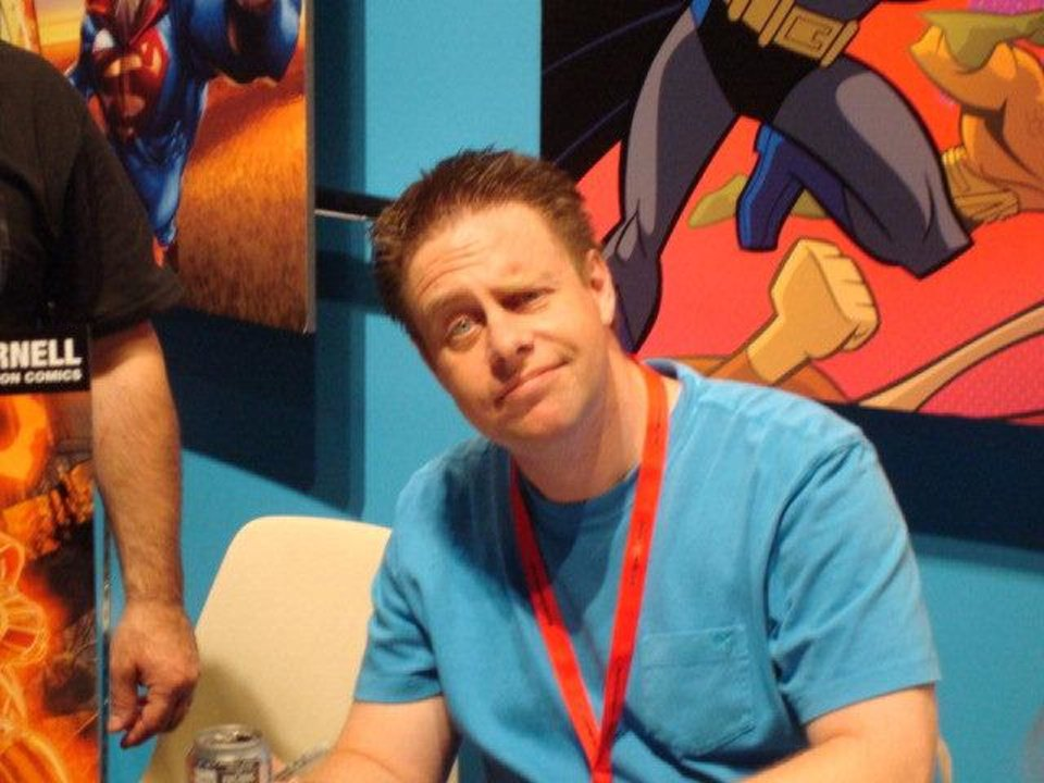 Paul Cornell at Comic-Con International in 2010.  Photo by Matthew Price, for The Oklahoman <strong></strong>