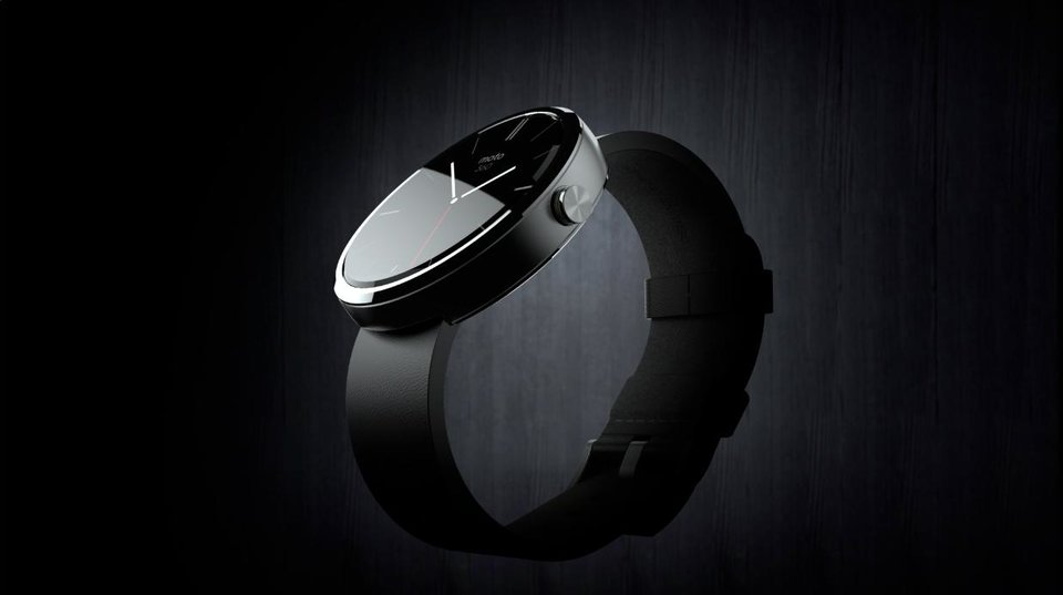 Photo -  The Moto 360 watch face is a 1.65-inch, 320 x 290 resolution LCD display. Photo provided