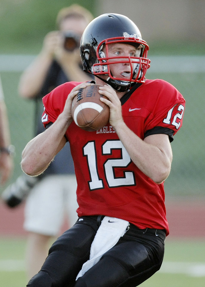 Photo - Del City's Jonathan McBride, a junior, will start at quarterback.  Photo by Nate Billings, The Oklahoman