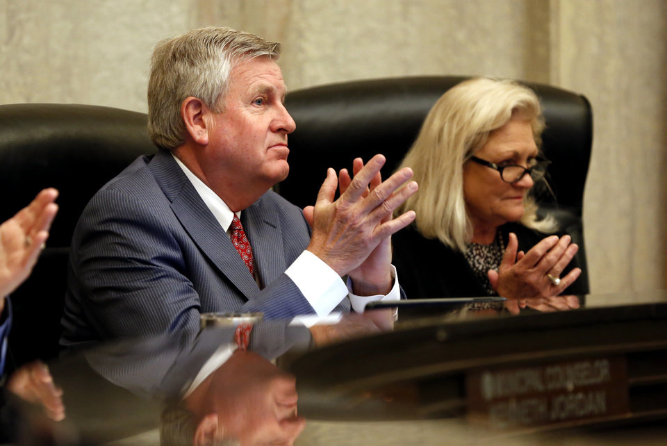 Photo - Longtime City Manager Jim Couch is retiring effective Jan. 2. [Photo by Steve Sisney, The Oklahoman]