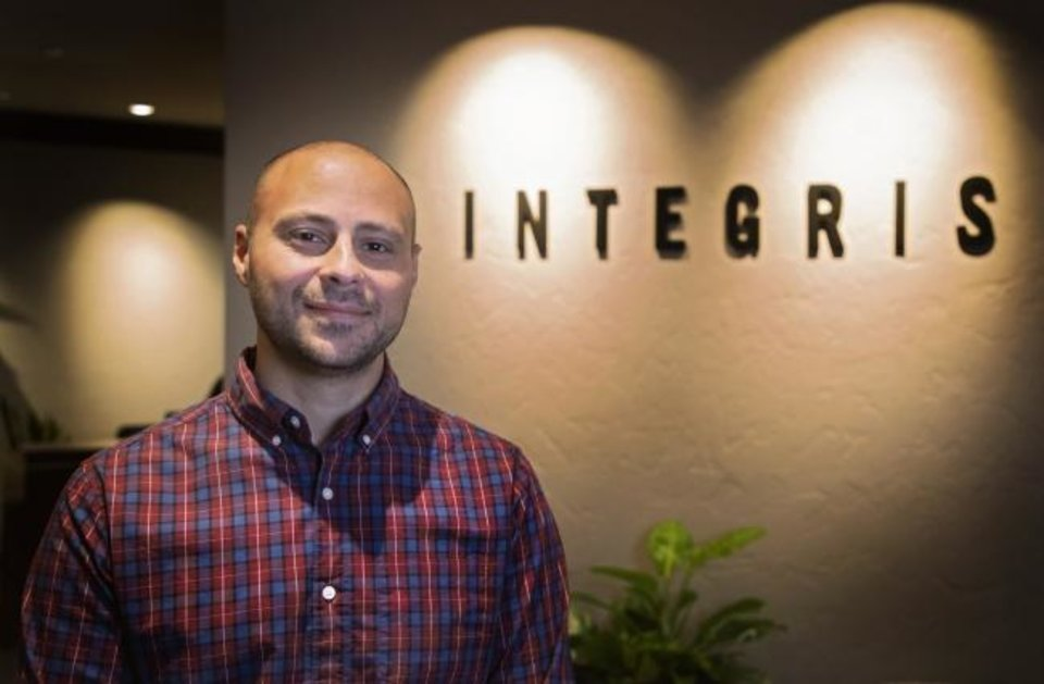 Photo -  Since he graduated from a combined premed and medical school program, Integris Health chief physician executive Tommy Ibrahim has been on a very accelerated professional path. [CHRIS LANDSBERGER/THE OKLAHOMAN]