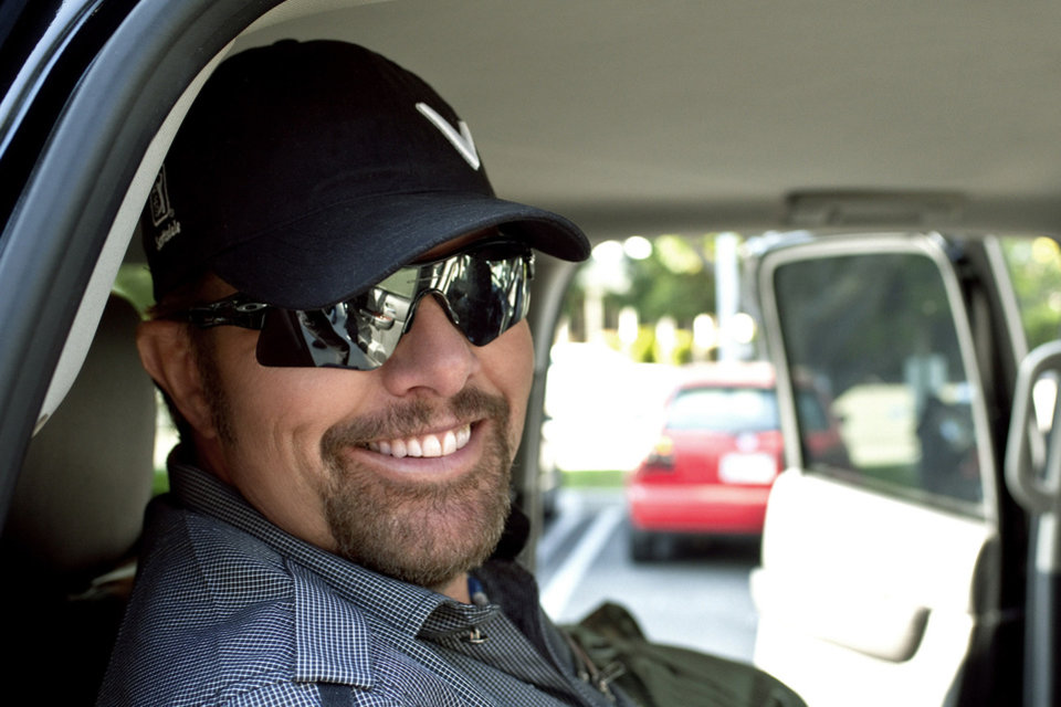 Toby Keith. Photo provided. <strong></strong>