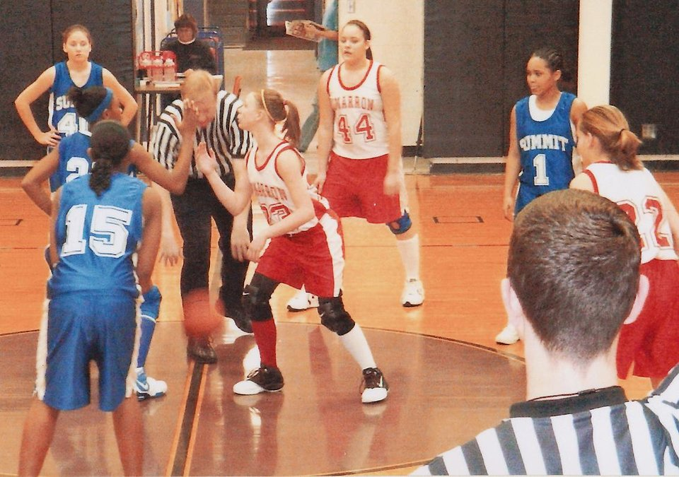 Photo - Courtney Walker plays in a youth league game. PHOTO PROVIDED