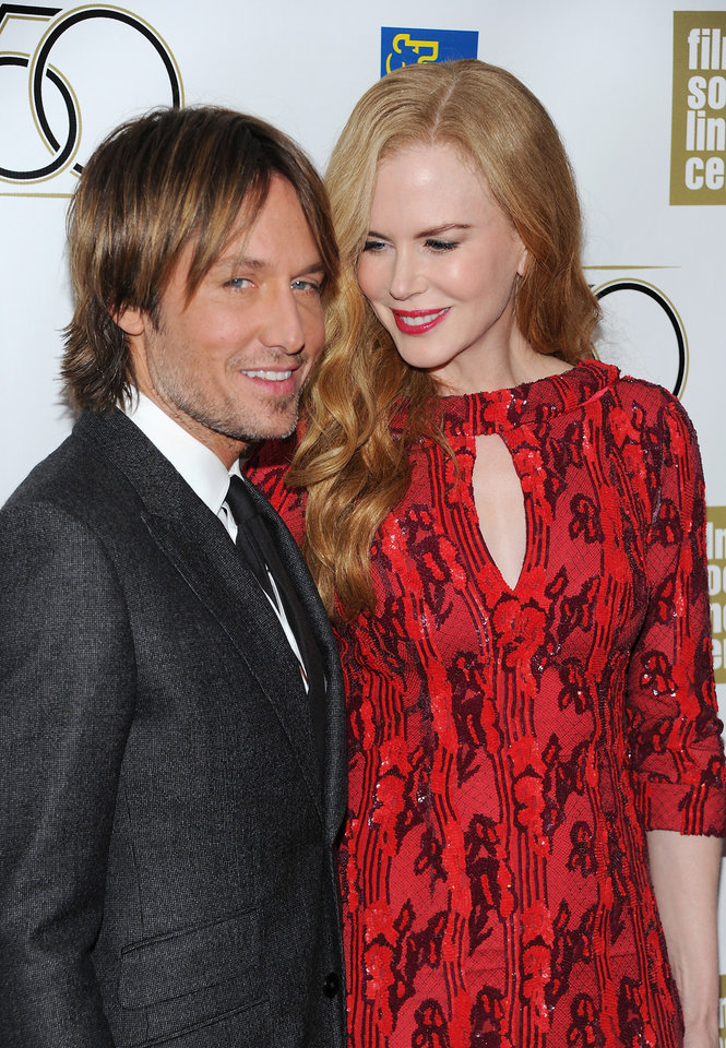 Photo -   Actress Nicole Kidman and her husband Keith Urban attend the premiere of