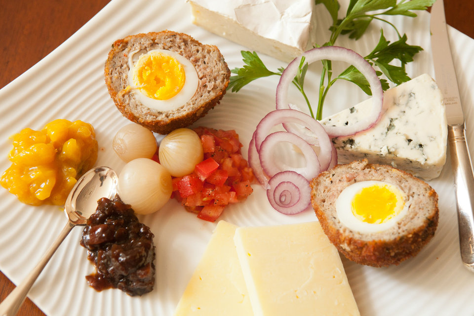 Photo - Scotch eggs are among the favorite recipes from the past year from the pages of the Atlanta Journal-Constitution. (Renee Brock/Atlanta Journal-Constitution/MCT)