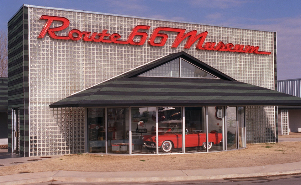 Route 66 Museum in Clinton, Ok. a property of Oklahoma Historical Society.  Staff Photo by George R. Wilson.