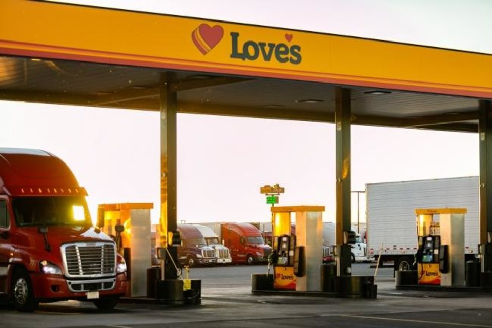 Photo -  During the COVID-19 pandemic, Love's Travel Stops & Country Stores has served truck drivers delivering vital goods countrywide and also opened several stores and truck shops across the nation. [PHOTO PROVIDED]