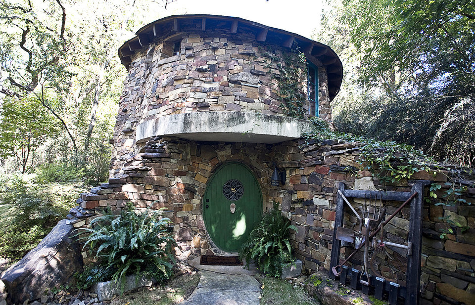 Photo - Southern Botanical Landscape Design created a whimsical hobbit house to carry out the Dallas-area landowner's imaginative theme.  MCCLATCHY-TRIBUNE PHOTO