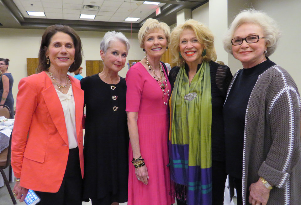 Photo - Kay Smith, Elizabeth Wilson, Darlene Parman, Beth Hammack and Charlotte Lankard. PHOTO PROVIDED