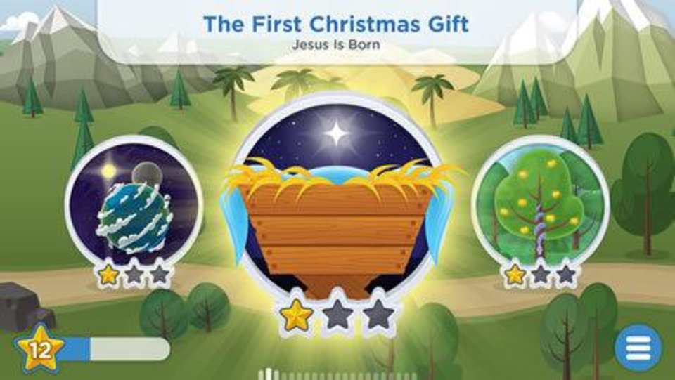 Photo - This Christmas-themed image is part of the new YouVersion