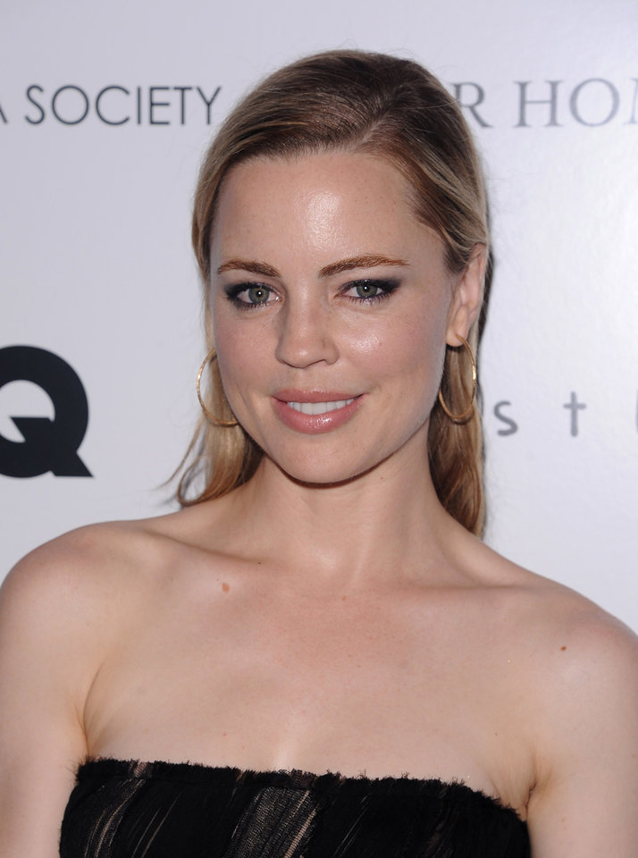 "Actress Melissa George attend the Cinema Society premiere of ""Restless"" in New York, on Wednesday, Sept. 14, 2011. (AP Photo/Peter Kramer)"