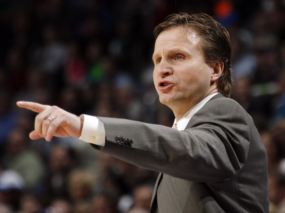 Coach Scott Brooks' Oklahoma City Thunder plays host to Minnesota on Friday. Photo by Nate Billings, The Oklahoman