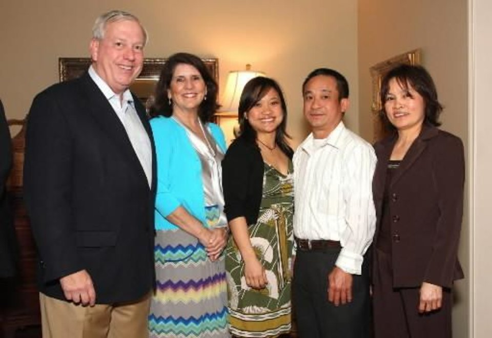 Bill and Mary Price, Tina, Nhan and Rang Duong. PHOTOS BY DAVID FAYTINGER, FOR THE OKLAHOMAN