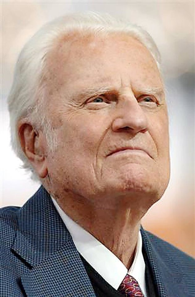 Billy Graham Photo provided <strong></strong>