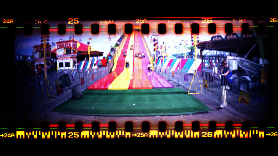 Photo -  Images from a Lomo Sprocket Rocket taken at the fair, Sunday, Sept. 14, 2014. Photo by Sarah Phipps, The Oklahoman