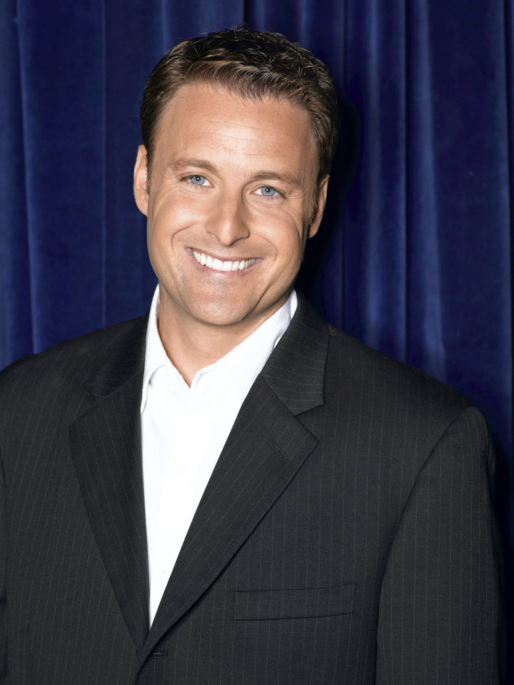 "Photo -  Chris Harrison, new author, Oklahoma City University graduate and host of ""The Bachelor"" and ""The Bachelorette.""   Bob D'Amico -  ABC"