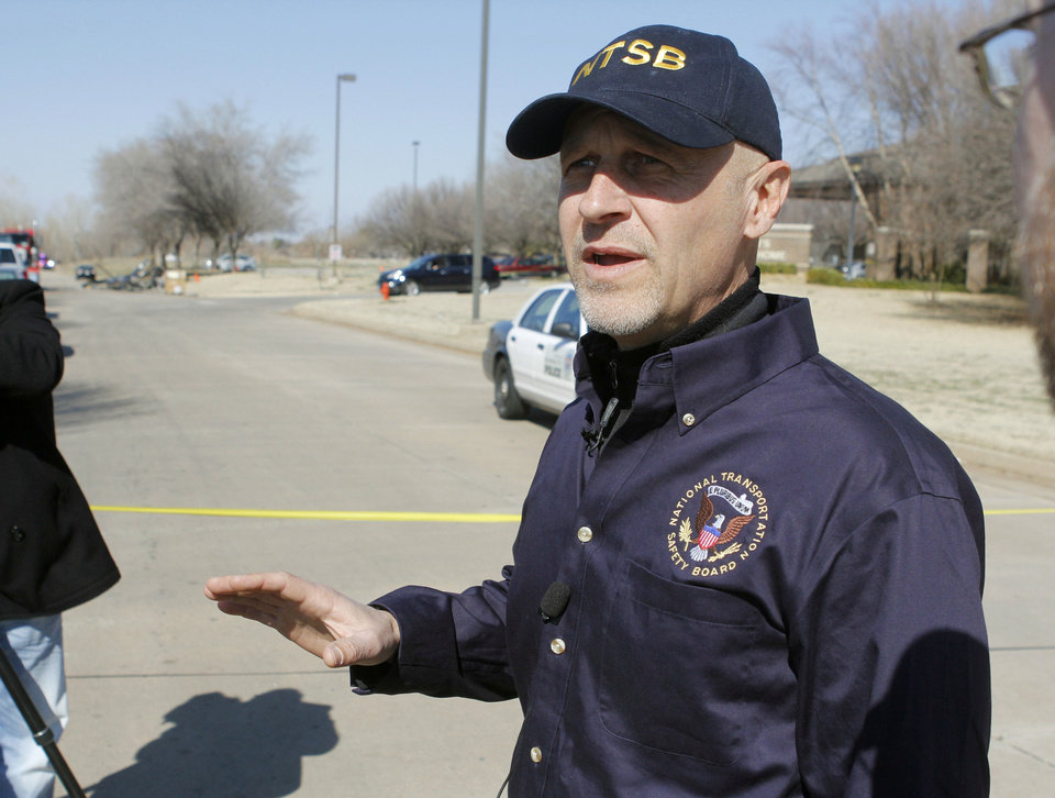 Photo - Alex Lemishko NTSB Lead Investigator
