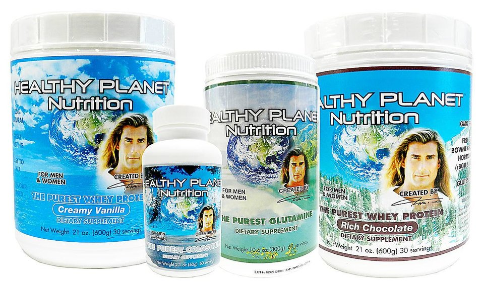 Fabio says the high quality protein, glutamate and colostrum in his Healthy Planet Nutrition supplements can make a big difference. Photo provided