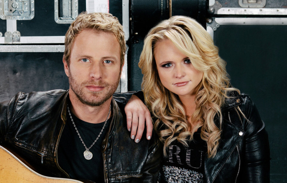 Photo - Country music stars Dierks Bentley and Miranda Lambert are bringing their