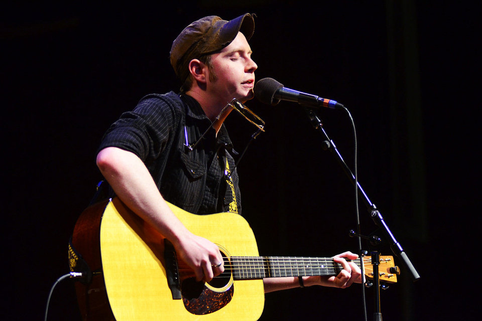 Above: John Fullbright's debut studio album earned a Grammy nomination for Best Americana Album.  Photo provided