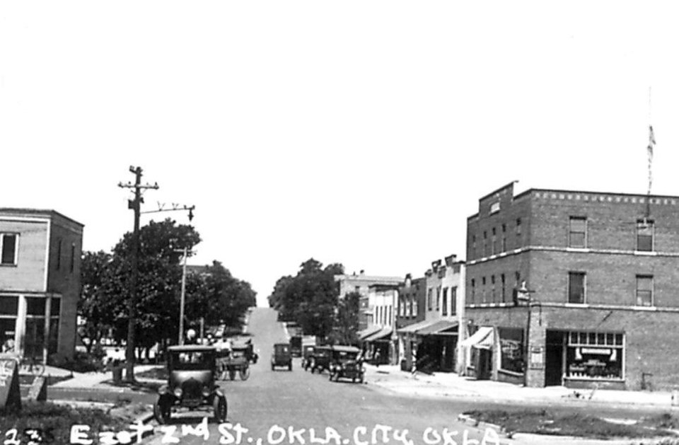 Photo - Now known as Deep Deuce, the area along NE 2nd in Oklahoma City became the hub for the black community In the 1920s and '30s.  PHOTO PROVIDED