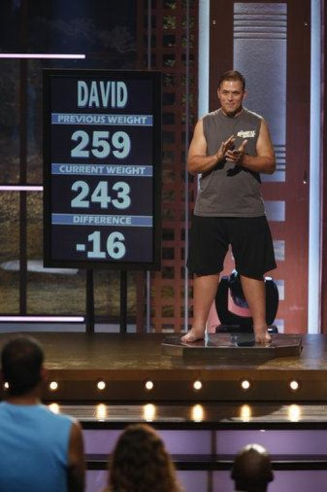 "David Brown weighs in on a previous episode of ""The Biggest Loser.""  NBC photo. <strong>NBC</strong>"