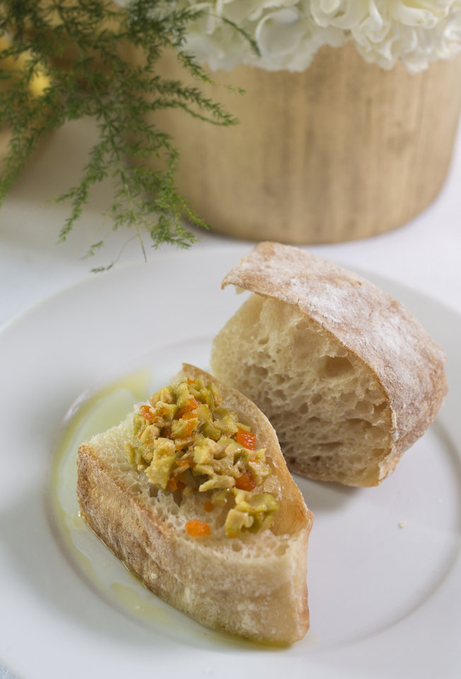 For holiday entertaining try a Nutcracker theme serving ciabatta bread with Spanish olive tapenade as a starter. (Ross Hailey/Fort Worth Star-Telegram/MCT)