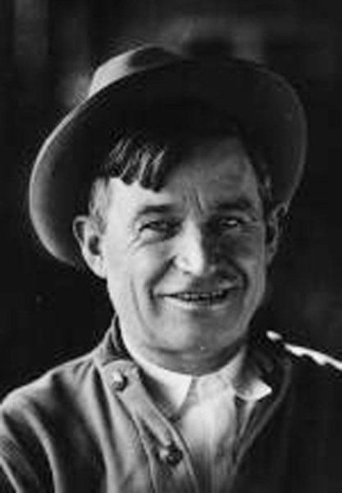 Photo - Will Rogers. Provided by Will Rogers State Historic Park. ORG XMIT: KOD