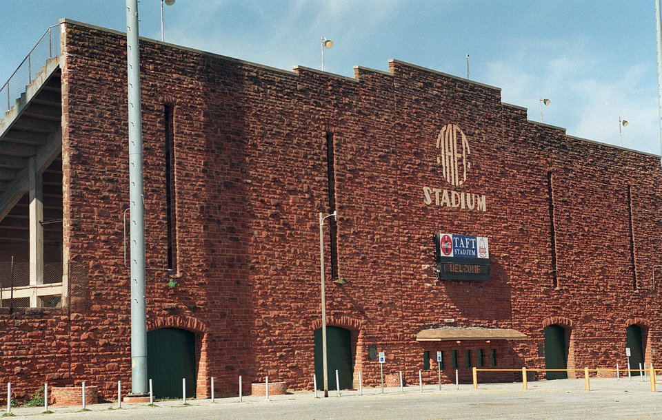 Historic Taft Stadium , 23rd and May Ave.