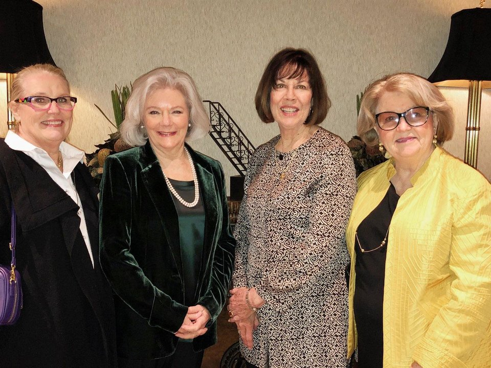 Photo - Emily Remmert, Rindy Hyde, Carol McPheters, Linda Garrett. PHOTO BY DR. MARK SULLIVAN