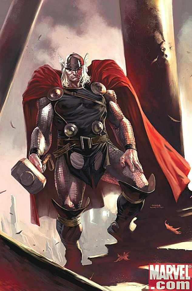 "Photo - ""Thor,"" which has been set in Oklahoma since its 2007 relaunch, was nominated for best ongoing series in the 2009 Eisner Award nominations.  Marvel Comics"