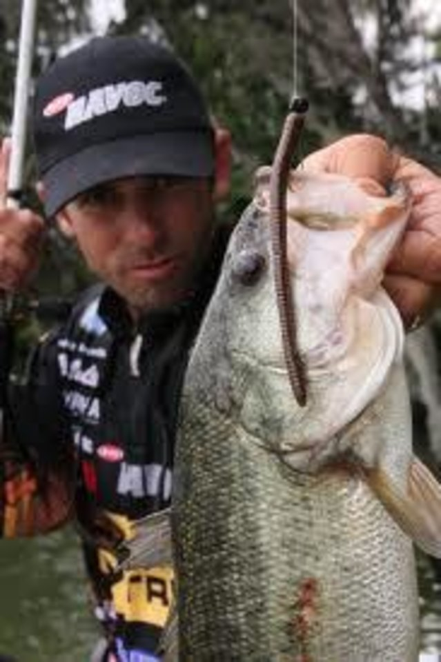 Photo -  Former Bassmaster Classic champion Michael Iaconelli loves targeting fish with a shaky head, especially when the bite turns off. Photo provided