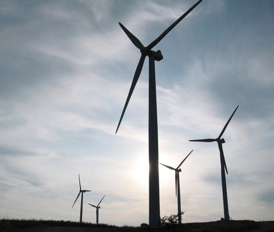 Photo -  Wind power generated by farms across the Southwest Power Pool's area of operations offer abundant amounts of affordable power. However, the source can be unpredictable because the wind doesn't blow all the time, regulators and utility executives note.
